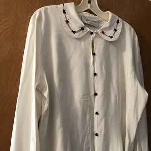 Susan Bristol dress blouse